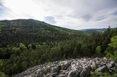 The Devil's Wall Stock Photos