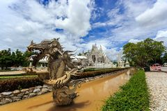 The Devil status at White Temple - Wat Rong Khun in Chiang Rai Royalty Free Stock Photo