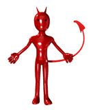Devil With A Tail Royalty Free Stock Photos