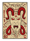 The Devil. The tarot card Stock Images