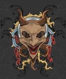 Devil theme t-shirt style Royalty Free Stock Photo