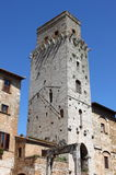 Devil Tower in San Gimignano Stock Images