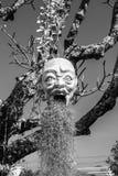 Devil. With tree Stock Image