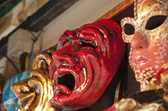 Devil Venetian mask Royalty Free Stock Photos