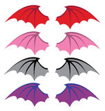 Devil wings Stock Photos