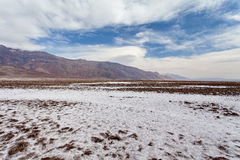 Devil's Golf Course - Death Valley National park Royalty Free Stock Images