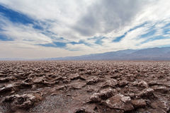 Devil's Golf Course - Death Valley National park Stock Photos