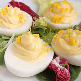 Deviled egg Stock Image