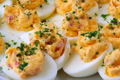 Deviled egg Royalty Free Stock Photo