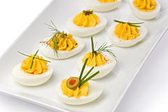 Deviled Eggs Royalty Free Stock Images