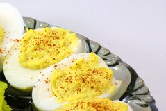 Deviled Eggs Stock Image