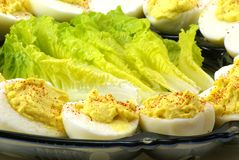 Deviled Eggs Stock Photos