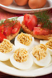 Deviled eggs Royalty Free Stock Photos