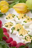 Deviled Eggs for Easter Royalty Free Stock Photo