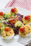 Deviled eggs Stock Images