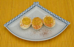 Deviled Eggs Royalty Free Stock Photography