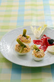 Deviled Eggs Stock Photography