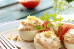 Deviled eggs Royalty Free Stock Image