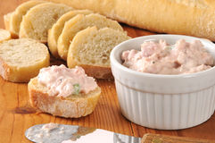 Deviled ham appetizers Stock Photography