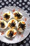 Deviled jajka dla Halloween Zdjęcie Stock