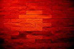 Devilish wall. ( scary red wall Stock Photo