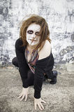 Devilish woman Royalty Free Stock Photos
