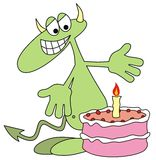 Devilkin's birthday Stock Images