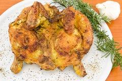 Devilled Huhn mit Kräutern Lizenzfreie Stockbilder