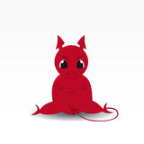 Devils. Nice and cute character - the Devil Royalty Free Stock Image