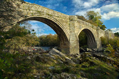 Devils bridge at kirkby lonsdale Stock Image