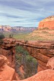 Devils Bridge,north Side Of Capital Butte, Sedona, Arizona, Stock Images