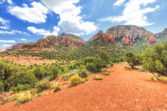 Devils bridge trailhead in Sedona, USA Stock Images