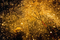 Free Devils Dance Group On Correfoc Stock Photography - 26512662