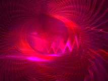 Devils eye. Abstract fractal background created with apophysis Stock Photos