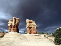 Devils Garden. In Grand Staircase Escalante National Monument in Utah, USA Royalty Free Stock Image