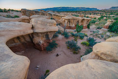 Devils Garden Escalante at Sunrise Royalty Free Stock Images