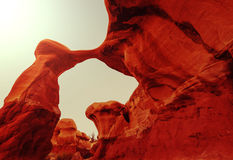 Devils Garden. In Grand Staircase Escalante National Monument in Utah, USA Royalty Free Stock Photo