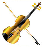 Devils Golden Fiddle Stock Photo