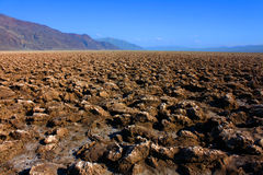 Devils Golf Course in Death Valley Royalty Free Stock Image