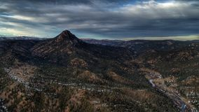 Devils Head Mountain Stock Photo