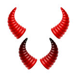 Devils horns Royalty Free Stock Photos