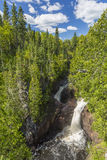 Devils Kettle Falls Stock Photo