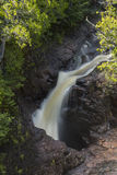 Devils Kettle Falls Royalty Free Stock Photography