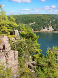 Devils Lake State Park Wisconsin Stock Photo