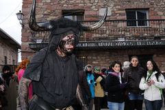 Devils LUZON  Carnival. SPAIN Stock Photos