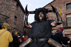 Devils LUZON  Carnival. SPAIN Stock Photography