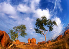 Free Devils Marbles Royalty Free Stock Photography - 10122237