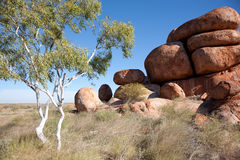 Devils Marbles Stock Photography