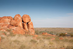 Devils Marbles Royalty Free Stock Photos