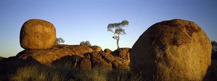 Devils marbles Royalty Free Stock Images